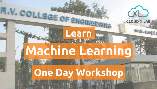 Machine Learning Bootcamp – Introduction and Hands-on @ RV College of Engineering, Bangalore